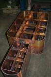 Kupfer, Kupolofen, Mittelfrequenz, Netzfrequenz, Warmhalte